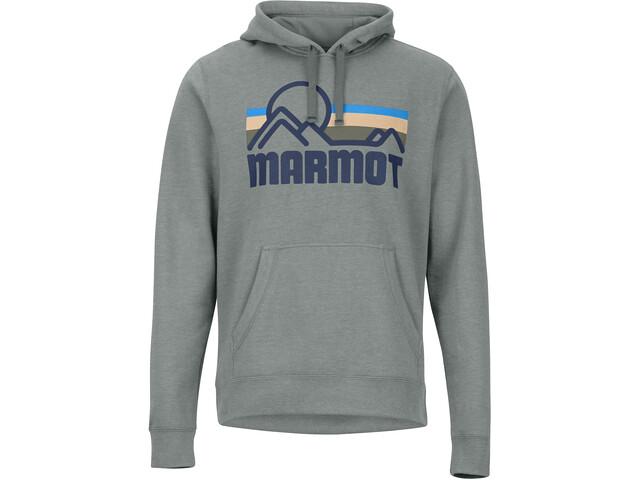 Marmot Coastal Felpa Uomo, charcoal heather